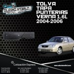 TOLVA TAPA PUNTERIAS VERNA 1.6 04-06