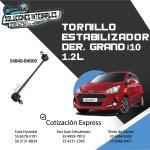 TORNILLO ESTABILIZADOR DER. GRAND I10 1.2L