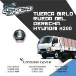 TUERCA BIRLO RUEDA DEL DER HYUNDAI H200