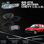 BALATA DELANTERA CHEVY 1.6L-1.8L