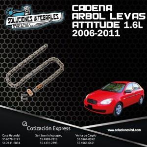 CADENA ARBOL LEVAS  ATTITUDE 1.6L 06-11