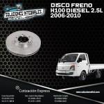DISCO FRENO H100 DIESEL 2.5L 06-10