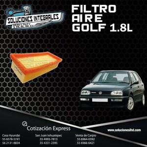 FILTRO AIRE GOLF 1.8L 87/91