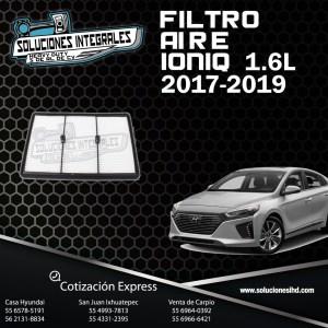 FILTRO AIRE IONIQ 1.6 17/19