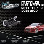 METALES BIELA STD  A ACCENT 1.6 18-20