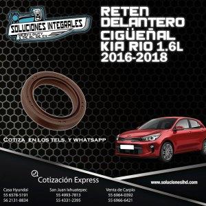RETEN DELANTERO CIGÜEÑAL KIA RIO 1.6 16-18