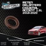 RETEN DELANTERO CIGÜEÑAL ACCENT 1.6L 18-20