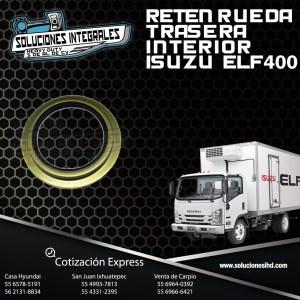 RETEN RUEDA TRASERA INTERIOR ISUZU ELF 400