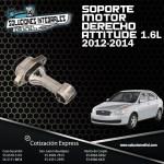 SOPORTE MOTOR DERECHO ATTITUDE 1.6L 12/14