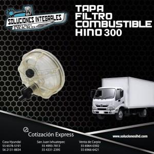 TAPA FILTRO COMBUSTIBLE HINO 300