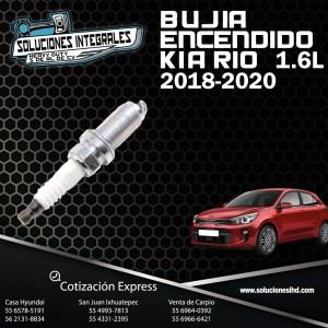 BUJIA ENCENDIDO KIA RIO 1.6L 18-20