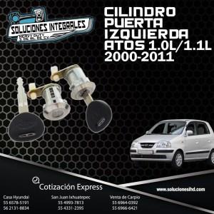 CILINDRO PUERTA IZQ. ATOS 1.0L 1.1L 00/11