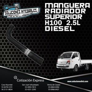 MANGUERA RADIADOR SUPERIOR H100 DIESEL 2.5L