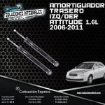 AMORTIGUADOR TRASERO IZQ./DER. ATTITUDE 1.6L 06/11