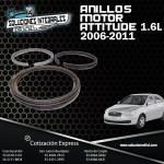ANILLOS MOTOR ATTITUDE 1.6L 06/11