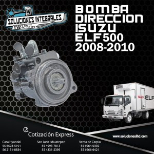 BOMBA DIRECCION ISUZU ELF 500 08/10