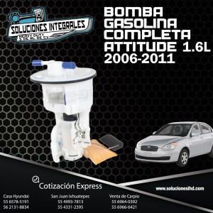 BOMBA GASOLINA COMPLETA ATTITUDE 1.6L 2006
