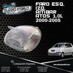 FARO IZQ. ESQ. AMBAR ATOS 1.0L 00-05
