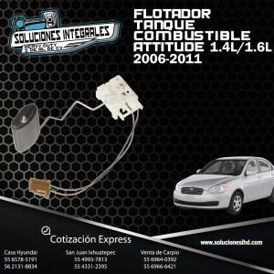 FLOTADOR TANQUE COMBUSTIBLE ATTITUDE 1.4L-1.6L 06/11