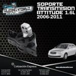SOPORTE TRANSMISION ATTITUDE 1.6L 11/15