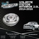 VOLANTE MOTOR AMAROK 2.0L 14/16