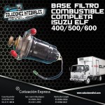 BASE FILTRO COMBUSTIBLE COMPLETA ISUZU ELF 400