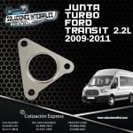 JUNTA TURBO FORD TRANSIT 2.2L DIESEL 09/11