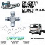 CRUCETA CARDAN NISSAN CABSTAR 2.5L DIESEL
