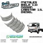 METALES BIELA 0.20 NISSAN CABSTAR 2.5L DIESEL