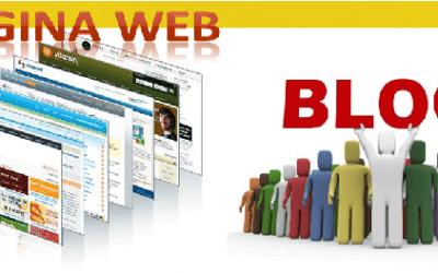 Que diferencia hay entre una página web y un blog