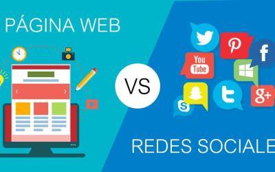 Tener una página web o redes sociales para mi marca