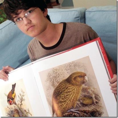 Adolescente salva especies en extincion