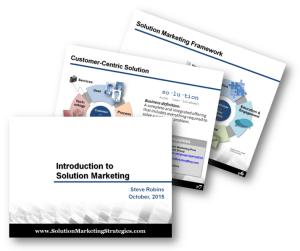 Solution Marketing-Strategies Presentations