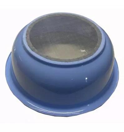 TAMIS-PLASTIQUE-BLEU-Diam-Ext360-mm-Diam-Int180-mm-vue du dessous