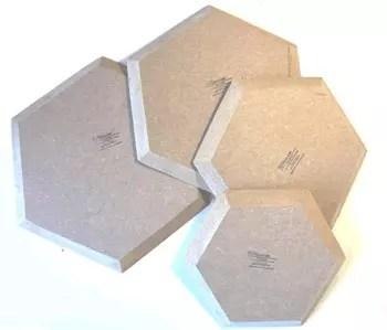 moule estampage hexagonale