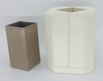 moule vase carré