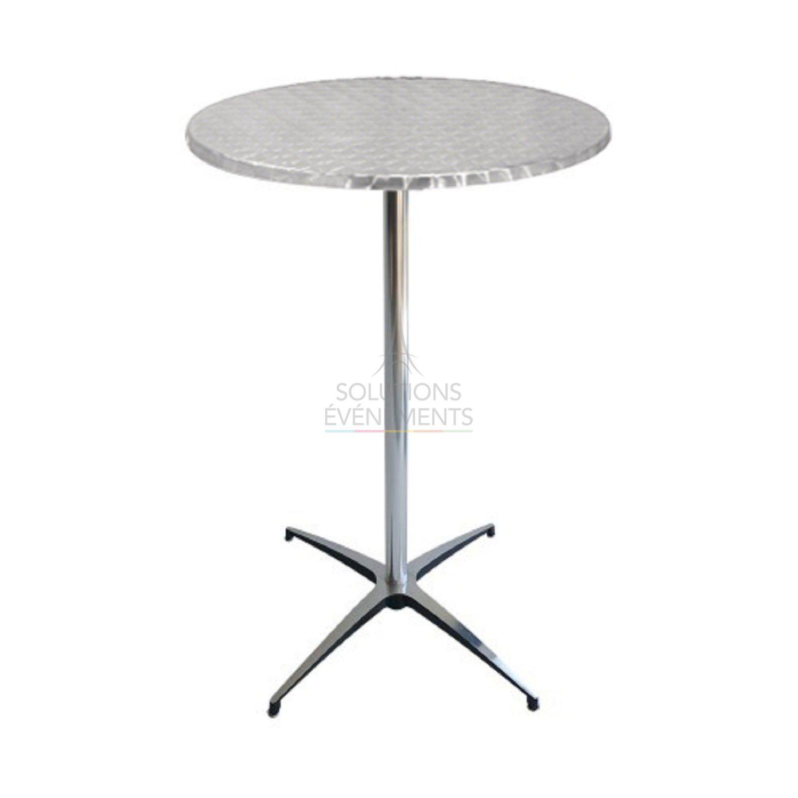 location table haute mange debout