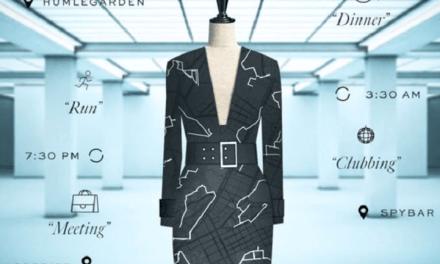 Coded Couture : la femme H&M s'habille en Google