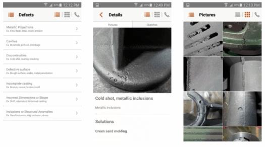trois screenshots