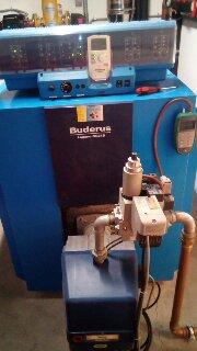 Συντήρηση Λέβητα καυστήρα Αερίου