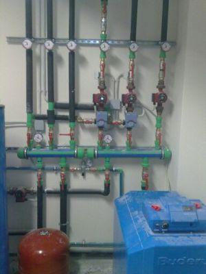 Εγκατάσταση Λεβητοστασίου με διζωνικό έλεγχο