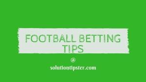 free football bet tips