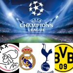 Champions League match day preview; Real Madrid take a trip to Ajax as they look to defend their trophy while Tottenham play host to Borussia Dortmund