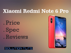 Xiaomi Redmi Note 6 Pro Price in USA & Specification