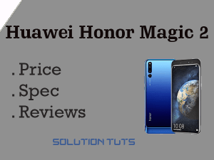 Huawei Honor Magic 2 Price In USA & UAE | Specification