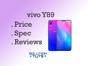vivo Y89 (2019) In USA & UAE | Specification