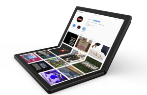 Lenovo announces  the World's First Foldable Laptop