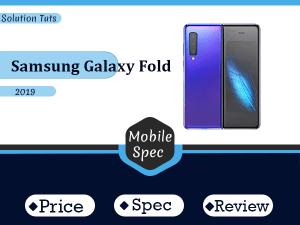 Samsung Galaxy Fold In USA & UAE | Specification