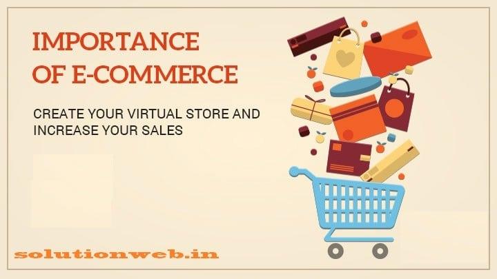 Importance of ecommerce