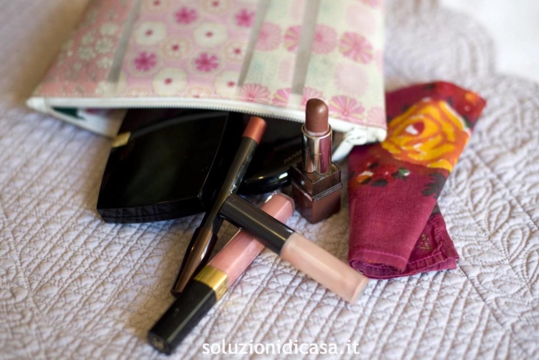 organizzare il beauty case
